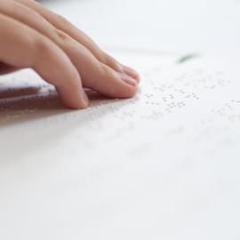 Reading Braille-RNIB