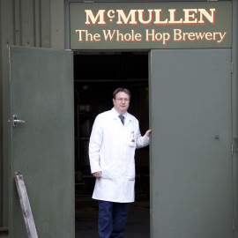 McMullens/Chris Evans-Head Brewer